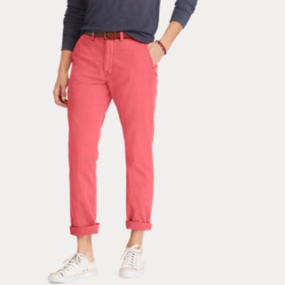 Ralph Chino Pants Polo Men's Lauren Classic Fit CxrodBeW